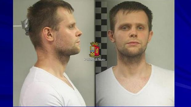 Photo released by police of Lukasz Pawel Herba, a Polish citizen with British residency