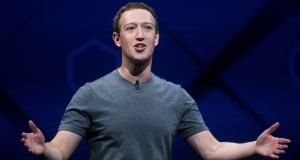 Facebook CEO Mark Zuckerberg should now live up to his rhetoric and launch a Facebook Permanent Fund to cover a broader universal basic income experiment. He should encourage other data businesses, such as Google, to contribute too. Photograph: Noah Berger/AP