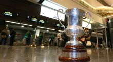 The Cormac McAnallen Cup will be up for grabs in November. Photograph: Inpho