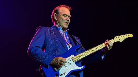 Glen Campbell in concert in 2012. File photograph: Getty Images