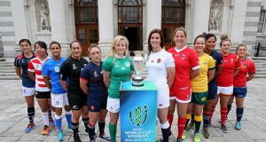 Just two professional teams will compete at the Women's Rugby World Cup with 10 amateur teams. Photo: Paul Faith/Getty Images