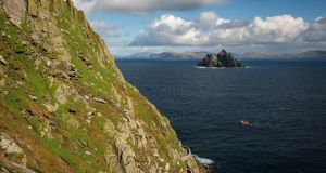 Skellig Michael has come to prominence as a setting for the new Star Wars movies, boosting local tourism. Photograph: iStock