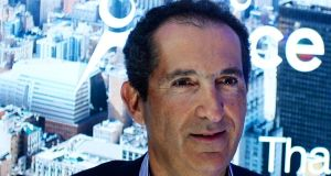 French telecom and Media group Altice founder Patrick Drahi. The firm is exploring a bid for Charter Communications, the second-largest US cable operator and the owner of assets formerly held by Time Warner Cable.