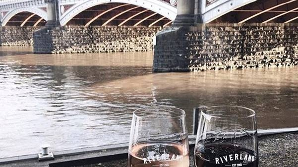 Riverland, a line of bars nestled beside the river Yarra, is a popular spot with locals. Photograph: Niamh Connolly