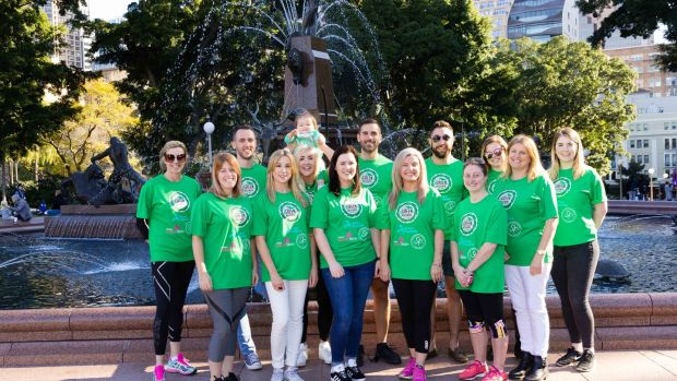 The Green Movement will be among the 80,000 people taking part in the City2Surf fun run in Sydney this Sunday.