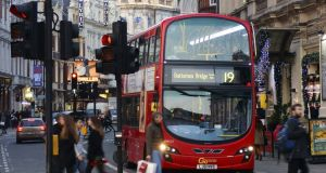 A Go-Ahead London bus. The company will run 24 bus routes in the greater Dublin area from 2018. Photograph: iStock