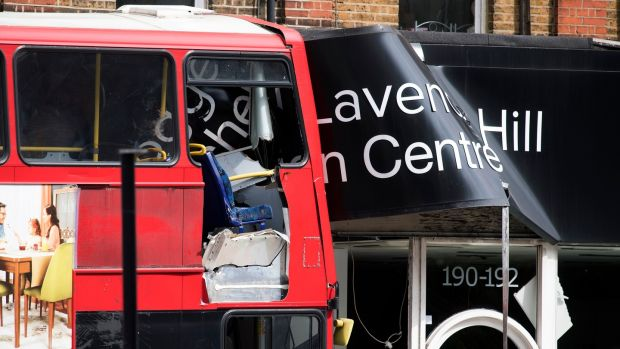 10 Injured As Bus Crashes Into Shop On Busy London Street