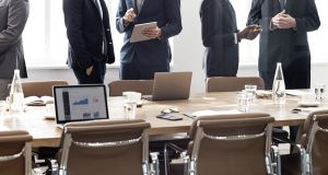 In an analysis of the boards of 31 Irish publicly quoted companies, 'The Irish Times' found that women accounted for shy of 16 per cent of the board seats. Photograph: iStock