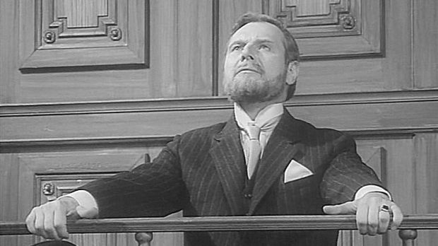 "Still from ""The Tragedy of Sir Roger Casement"", a two-part television play produced and screened by ZDF public television in West Germany in 1968"