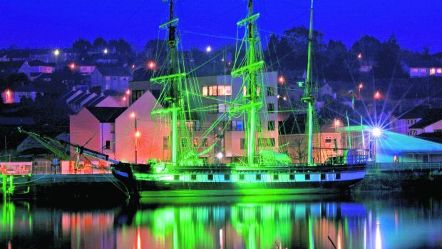 The Dunbrody Famine Ship in New Ross, Co Wexford