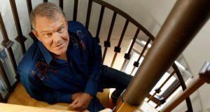 Glen Campbell revealed in June 2011, a month before this photograph was taken,  that he had Alzheimer's disease, saying it had been diagnosed six months earlier. Photograph: Matt Sayles/AP