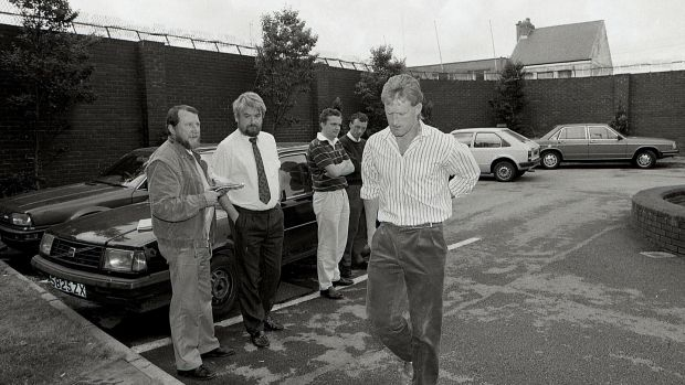 Tony Keady arrives for a disciplinary meeting at Croke Park in July 1989. He was suspended for that year's semi-final for playing in the United States without authorisation. Photograph: Inpho