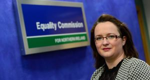 Aine Magorrian, who was made redundant while on maternity leave and has settled a discrimination case for £9,000.  Photograph: Equality Commission for Northern Ireland/PA Wire