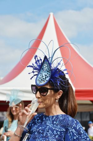 Nicola Grant (Co Down) on Ladies Day at the RDS. Photograph: Alan Betson/The Irish Times