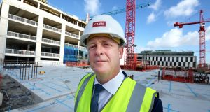 Cairn Homes chief executive Michael Stanley at 6 Hanover Quay in Dublin. Photograph: Cyril Byrne