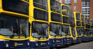 British transport company Go-Ahead has secured a tender to take over 23 existing Dublin Bus routes and introduce one new service, running from Citywest to UCD. Photograph: Brian Lawless/PA