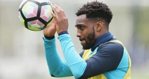 Danny Rose has apologised for the interview he gave in The Sun suggesting he was open to a move away from Tottenham. Photograph: Getty