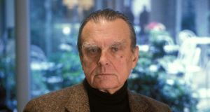 Czeslaw Milosz:  stepped into the empty space in American poetry. Photograph: Louis Monier/Getty Images