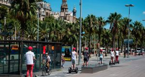 Segway tours and electric scooters were banned from the Old City and the seafront, in a move that will be applauded by most citizens.