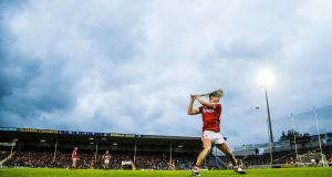 Cork's Daire Connery will be central to their plans on Sunday. Photograph: Tommy Dickson/Inpho