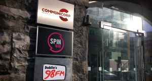 Communicorp owns Newstalk and Today FM, as well as Spin 1038 and Dublin's 98FM. Photograph: Bryan O'Brien