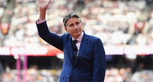 Sebastian Coe: said the biggest challenge facing athletics is not doping; it's the need to attract a younger and wider audience. Photograph: David Ramos/Getty