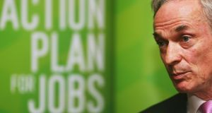 Former minister for jobs  Richard Bruton: had said that filling the IT post at the Office of the Director of Corporate Enforcement was of 'priority importance'. Photograph: Brian Lawless/PA Wire