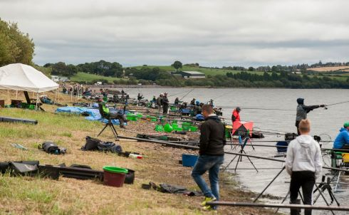 GO FISH: Participants practise before the World Youth Angling Championships, at Inniscarra Lake, Co Cork. Photograph: Brian Lougheed