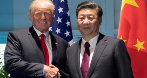 Donald Trump and Xi Jinping: The 'relationship between the two presidents is an extremely close one'. File photograph: Saul Loeb/Pool/File Photo