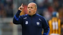 Derek McGrath's Waterford have been much better since losing to Cork in the Munster championship but there are still good reasons to believe that for all they could improve, it might not be enough to close the gap. Photograph: Cathal Noonan/Inpho