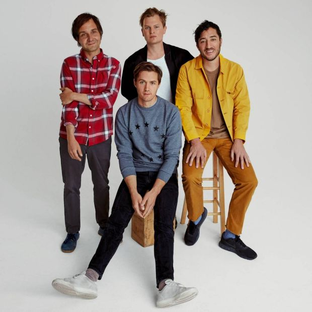 Grizzly Bear: Clockwise from left: Daniel Rossen, Chris Taylor, Ed Droste, Chris Bear