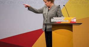 Chancellor Angela Merkel on Saturday launched a scathing attack on Germany's auto managers