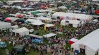 More than  60,000 people  attended the Tullamore Show. Photograph: Nick Bradshaw