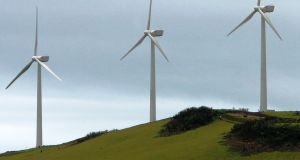 An Innogy onshore wind farm on the Galápagos islands