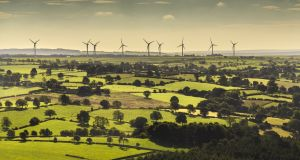 Greencoat UK Wind has acquired the Slieve Divena Wind Farm in County Tyrone. Photograph: iStock