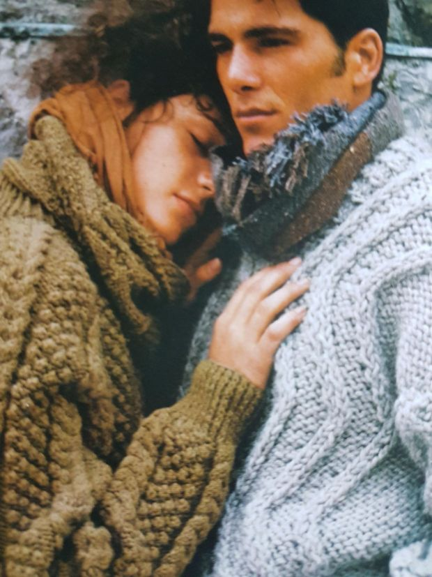 Classic Aran chunky knits for men and women
