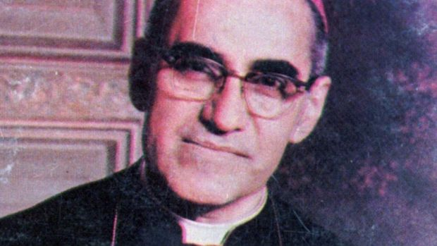 Archbishop Óscar Romero: spoke out vehemently against poverty, social wrongs, torture and murder. Photograph: AP