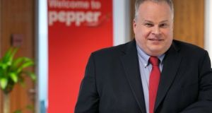 Pepper Ireland chief executive Paul Doddrell. US private equity giant KKR, which is in the process of buying Pepper, has rejected suggestions that it may try to offload the group's Irish assets.
