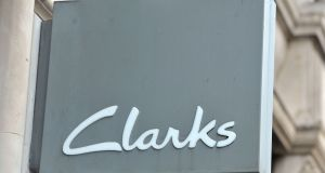 Clarks: the footwear firm sparked a sexism row after naming a girls' shoe range Dolly Babe and a boys' line Leader. Photograph: Nick Ansell/PA Wire