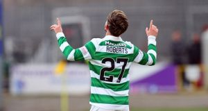 Celtic are hoping to take Patrick Roberts on loan again this season. Photograph: Getty Images