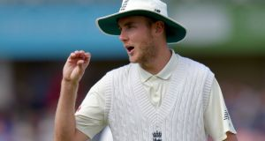 "England's Stuart Broad: ""Every ball in this series is going to be competitive, and we have to be switched on to that."" Photograph: Getty Images"