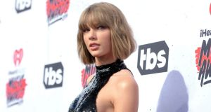 Taylor Swift won her trial against a Colorado radio personality on Monday. Photograph: Richard Shotwell/Invision/AP