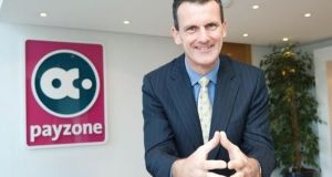 Payzone chief executive Jim Deignan said the 2016 financial results reflected the ongoing diversification of the company's revenue base.