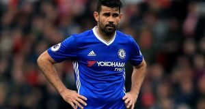 Chelsea want Diego Costa to end his exile, return to London and prove his fitness. Photograph: PA