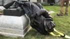Protesters tear down Confederate monument in North Carolina