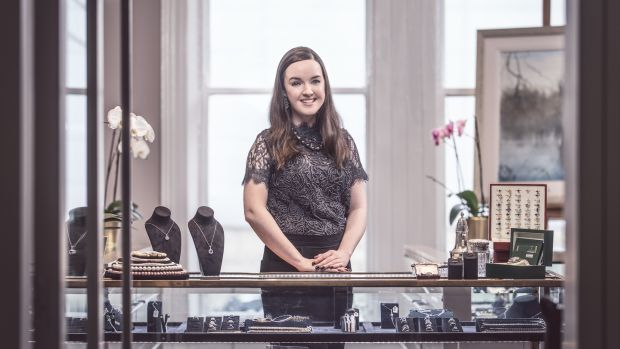 Claire Heaney, jewellery specialist, Ross's Auctioneers & Valuers, Belfast