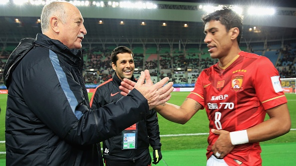 Paulinho has seen his career revitalised under Guangzhou Evergrande manager Luiz Felipe Scolari. Photograph: Getty