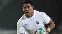 Manu Tuilagi: he has managed just one appearance for England off the bench under Eddie Jones. Photograph: David  Davies/PA Wire.