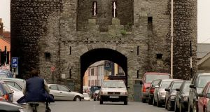 Saint Laurence's Gate is part of the original medieval Drogheda town wall, less than 10 per cent of which survives. Photograph: David Sleator