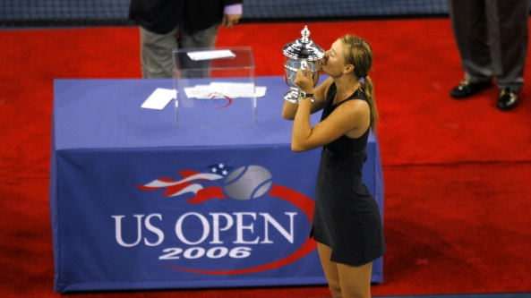 Maria Sharapova won the US Open in 2006. Photograph: Mike Ehrmann/Getty